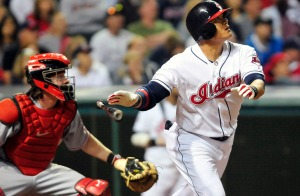 MLB: Cincinnati Reds at Cleveland Indians