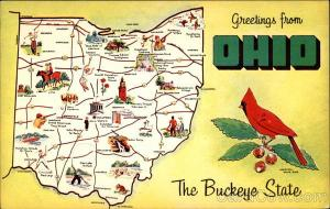 Greetings from Ohio The Buckeye State