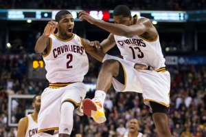 Kyrie Irving ; Tristan Thompson