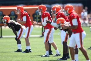 browns quarterback competition