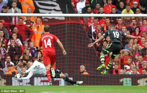 liverpool mignolet save