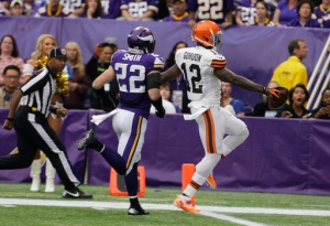 Josh Gordon, Harrison Smith