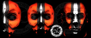 Browns Halloween Mask