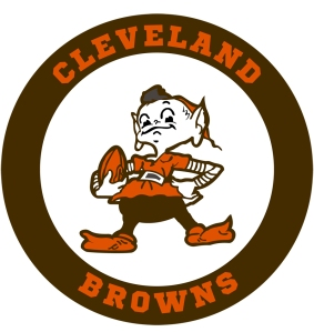 Cleveland Browns Logo Badge