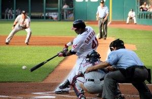 Carlos Santana third base