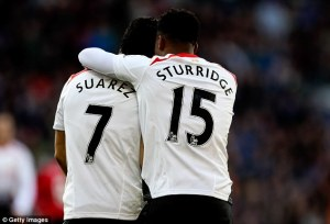 suarez sturridge goals