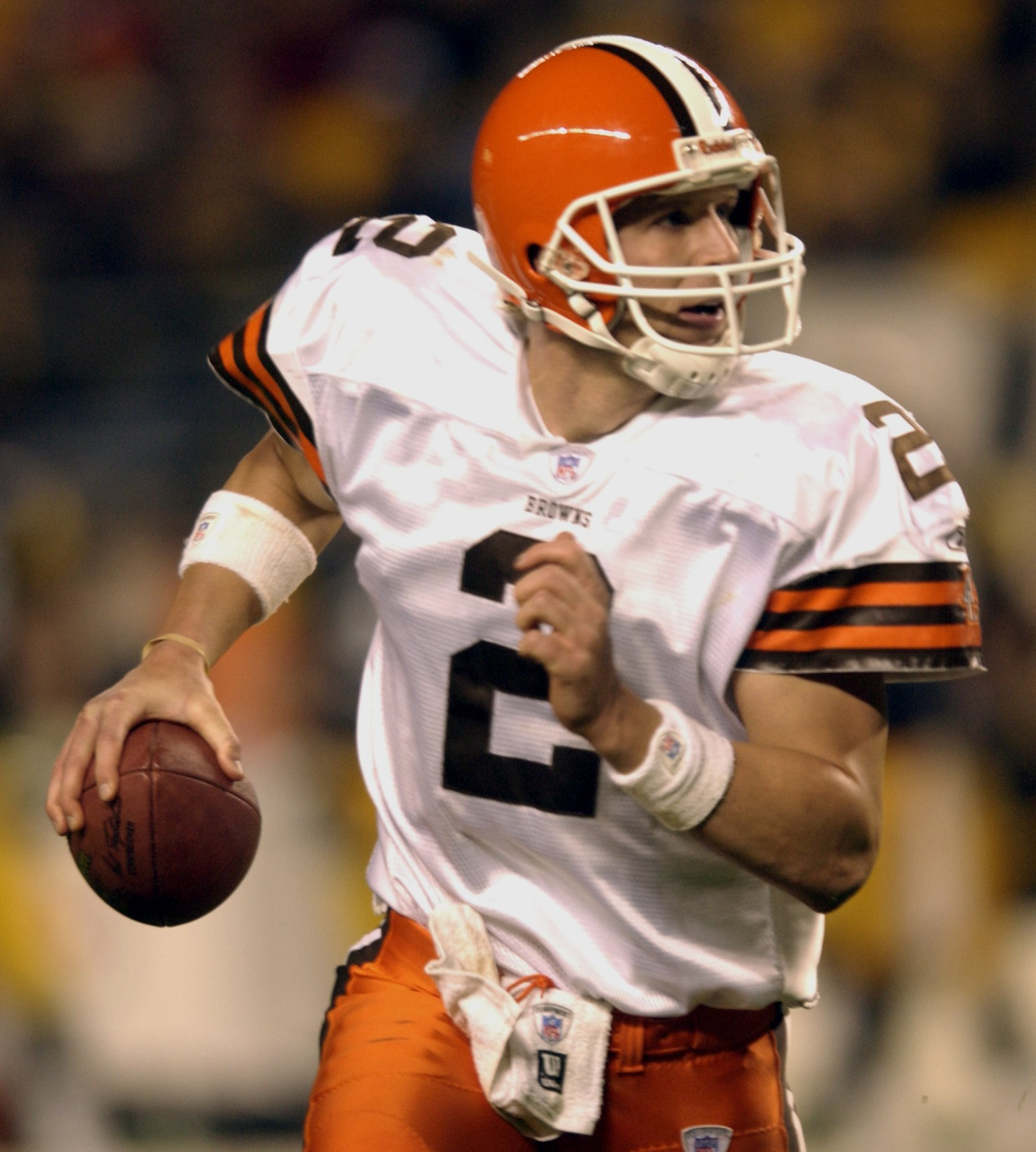 Browns select the man with the golden arm: Tim Couch | Red ...