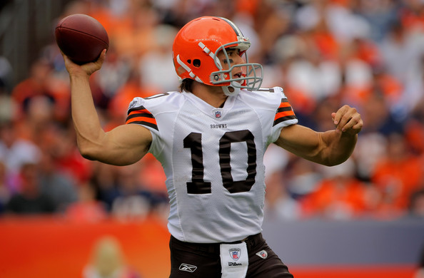 We Got Him Browns Select Brady Quinn Red Right 88