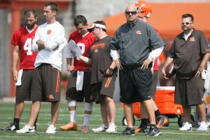 browns training camp mike pettine