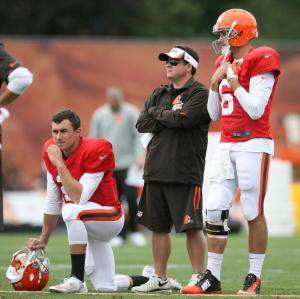 browns training camp quarterbacks 2