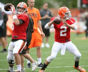 browns training hoyer manziel 5