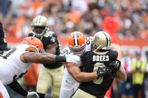 browns sack saints