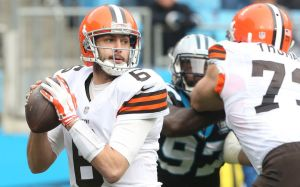 browns lose panthers hoyer
