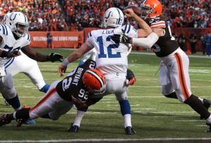 browns sack luck