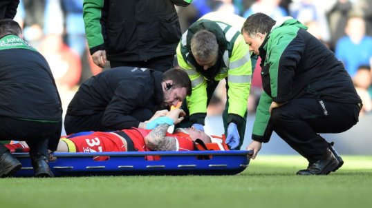martin skrtel injury scare